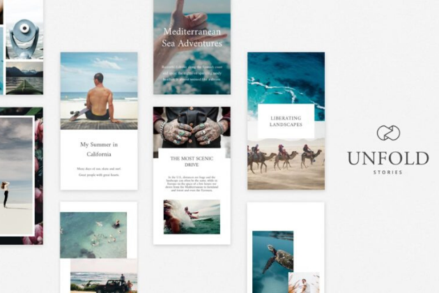 Unfold: Templates para Instagram Stories
