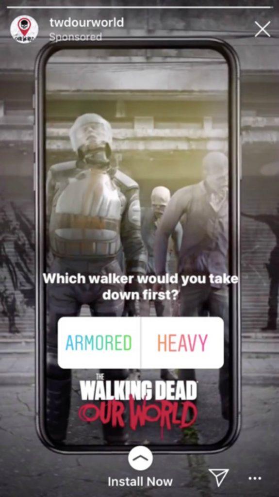 Sticker per sondaggi instagram generare vendite