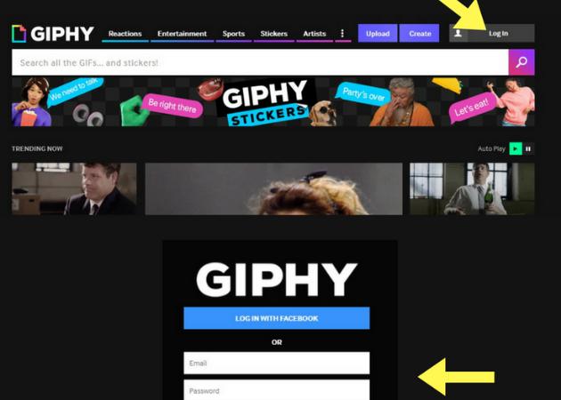 Cómo funciona Giphy