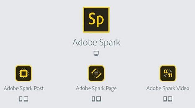 Aplicaciones para crear diseños gráficos: Adobe Spark
