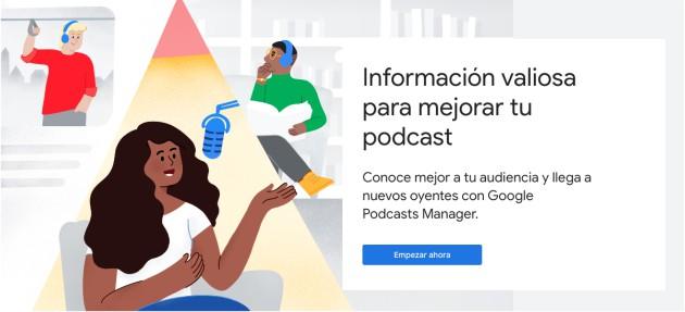 Cómo usar Google Podcast Manager