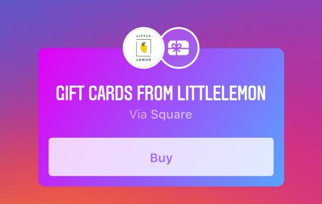 Sticker tarjeta de regalo