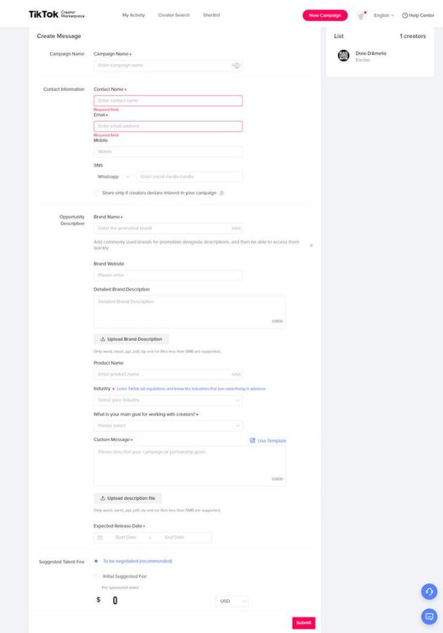 Info de acceso