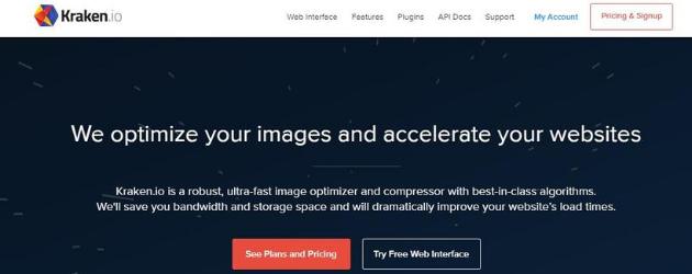 reducir el tamaño de tus fotos: Kraken