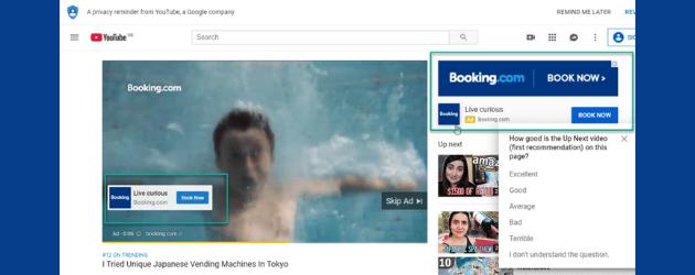 Ejemplo de video de remarketing en YouTube