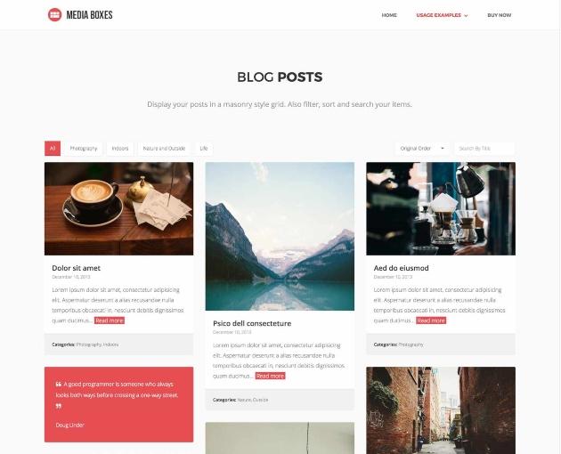 Posts en blogs