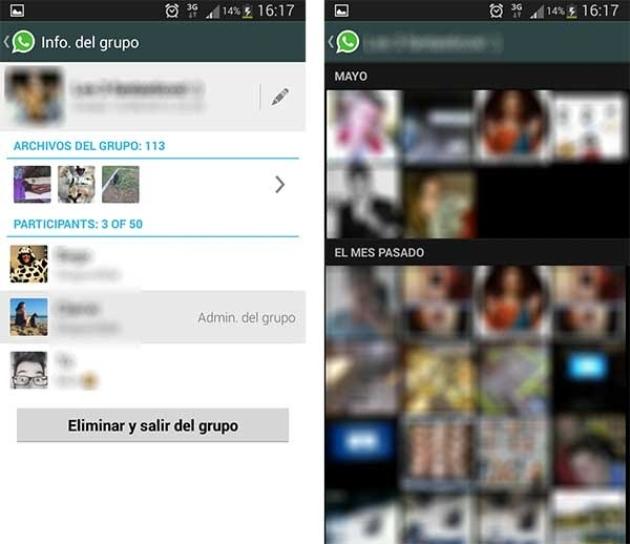 Búsqueda por imágenes en WhatsApp