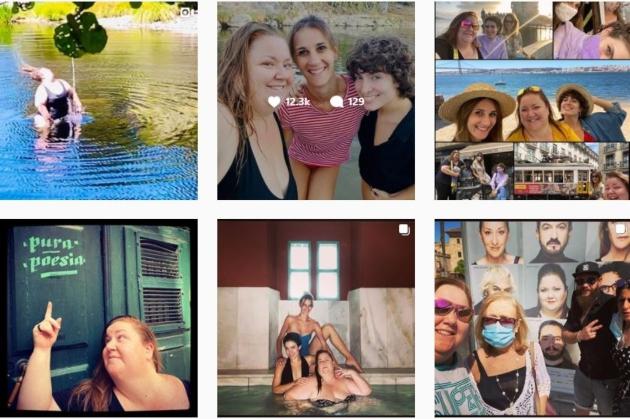 Perfil de Instagram de Itziar Castro