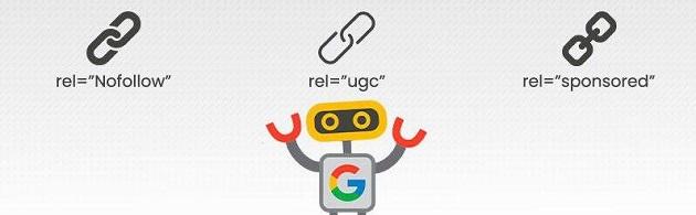 cómo usar los Enlaces UGC y sponsored