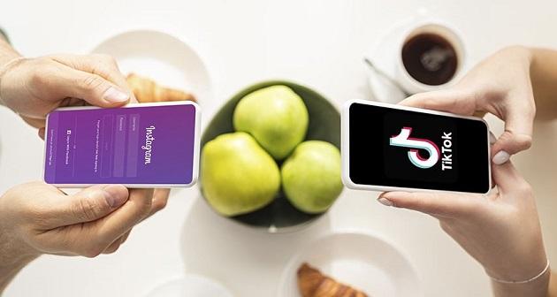 Cuál app tiene mayor conversión entre Reels vs. Tik Tok