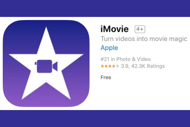 Aplicación iMovie
