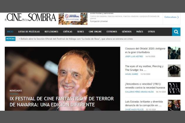 blogs de series y películas en España: El Cine en la Sombra