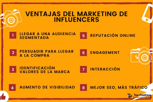 Ventajas de influencer marketing para 2021