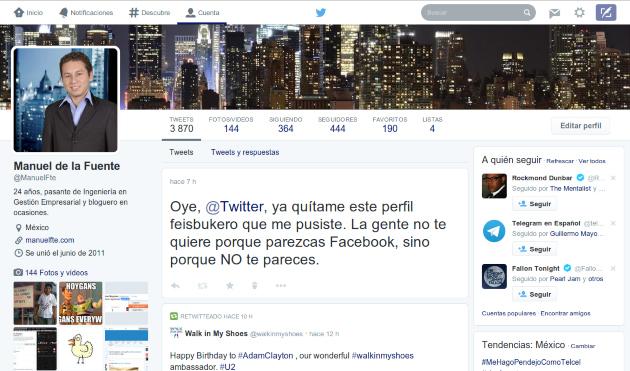 Optimizar tu perfil para conseguir más seguidores en Twitter