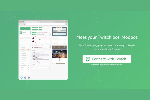 chatbots para Twitch: Moobot
