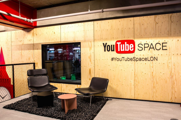 Un espacio para youtubers: Youtube Space
