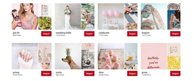 Promocionar tu marca en Pinterest