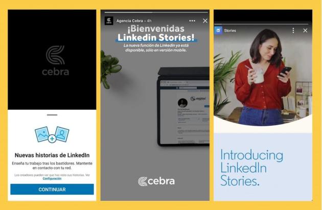 Cómo usar las stories de LinkedIn