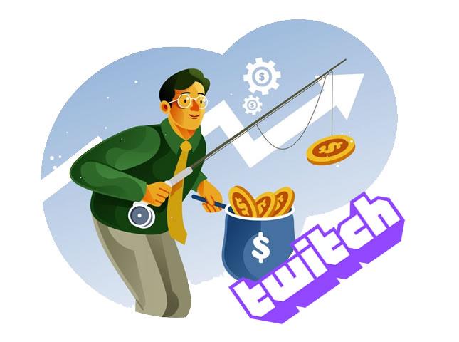guadagnare con Twitch
