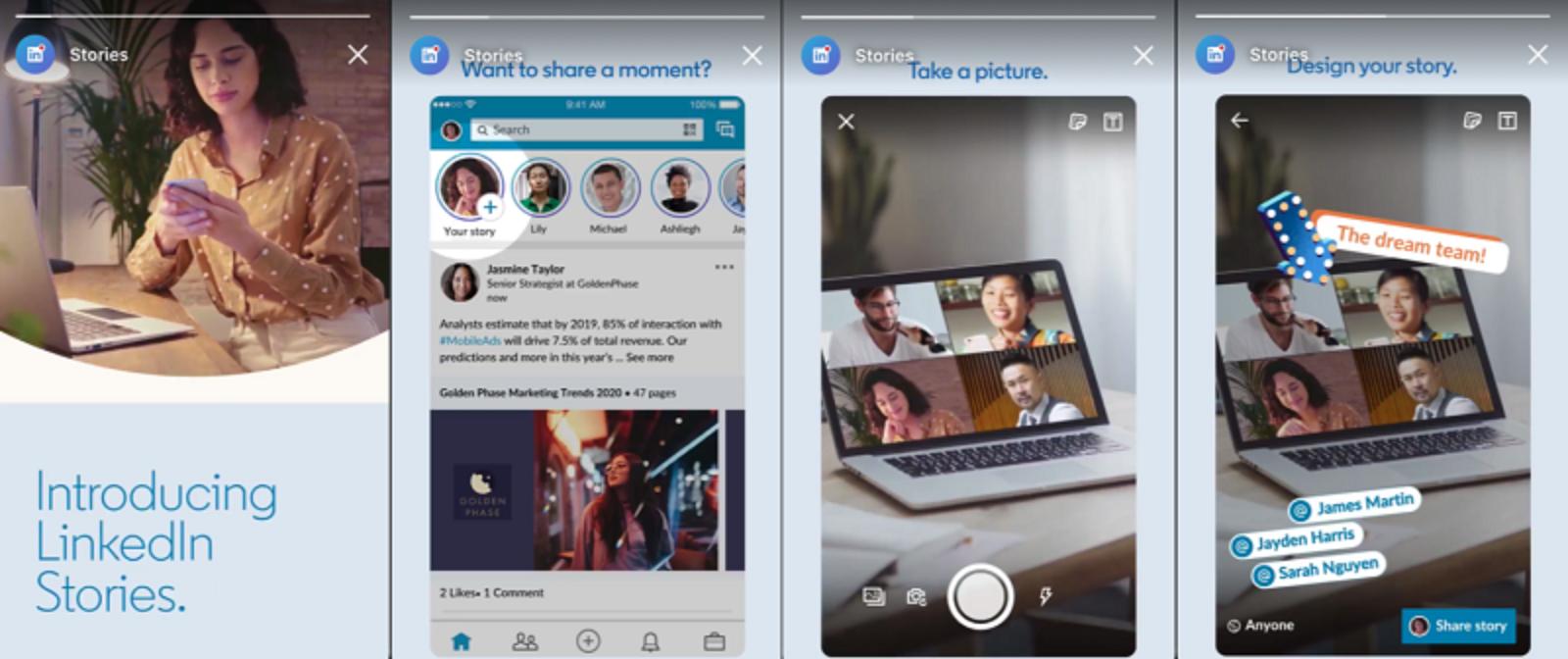 storie di LinkedIn per aumentare molto di più il tuo personal branding