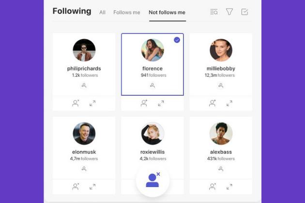Análisis de los seguidores