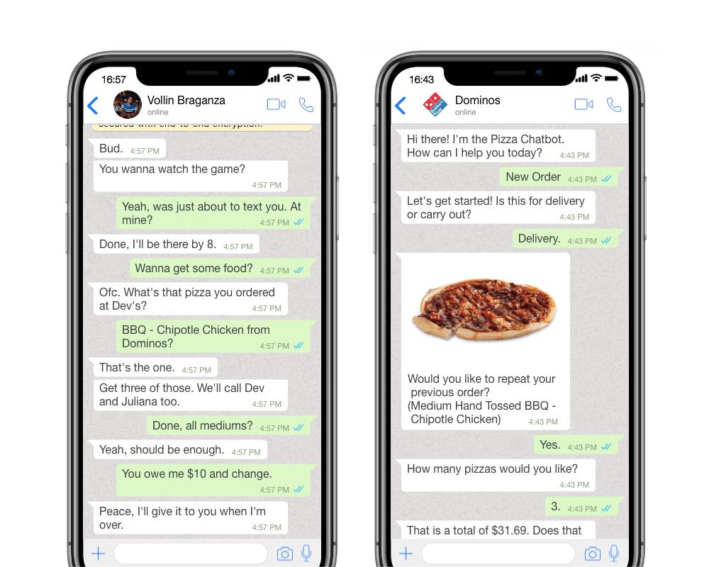 Cosa sono i chatbot per WhatsApp